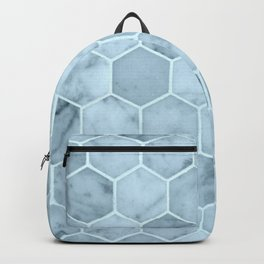 Bright Blue Tiles Backpack