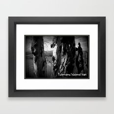 Rebirth in Yellowstone Framed Art Print