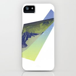 Triangle Mountains iPhone Case