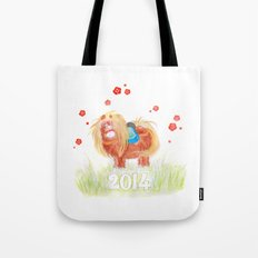 Happy New Year 2014  Tote Bag