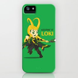Keepin' it Loki iPhone Case