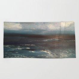 Deep Blue Sea Beach Towel