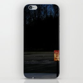 The Ice Be Thin iPhone Skin