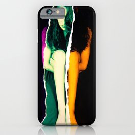 Ripped Girl iPhone Case
