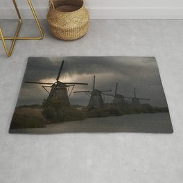 Dutch Windmills in Kinderdjik Rug