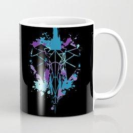 Elephant - Blue Chaos Coffee Mug