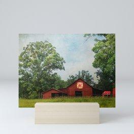 Quilt Barn Mini Art Print