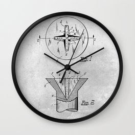 Screw Wall Clock
