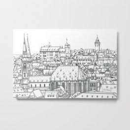 Nuremberg Metal Print