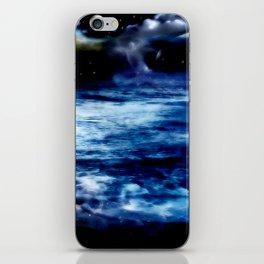 Blue Night Sky iPhone Skin