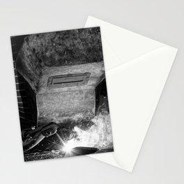 Welder works Stationery Cards