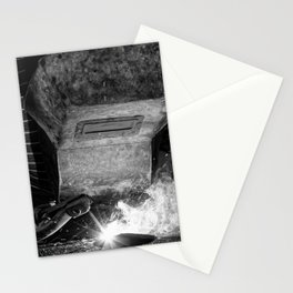 Welder works Stationery Cards