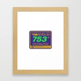 Reynolds 753, Enhanced Framed Art Print