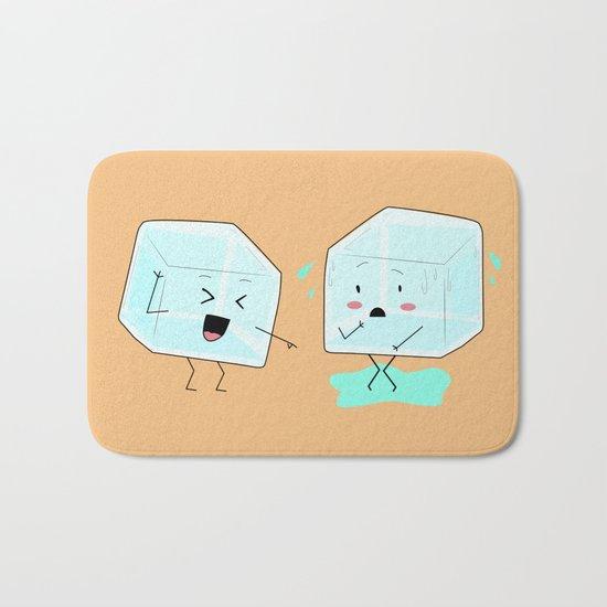 Ice cube problems Bath Mat