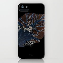 Remnant Fears, inverse iPhone Case