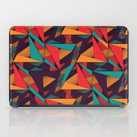 arya iPad Cases featuring Hexagonal Lines and Triangles by Hinal Arya