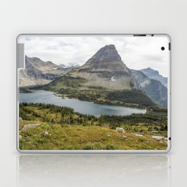 Overlooking Hidden Lake and BearHat Mountain Laptop & iPad Skin