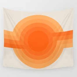 Sunspot -  Creamsicle Wall Tapestry