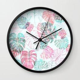 Kona Tropical Mint Wall Clock