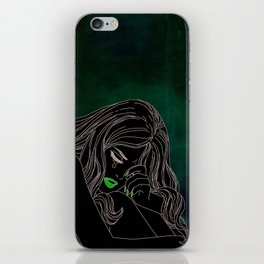 My life is over iPhone Skin