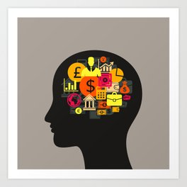 Business a head5 Art Print