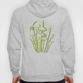 Scattered Bamboos on Beige Hoody