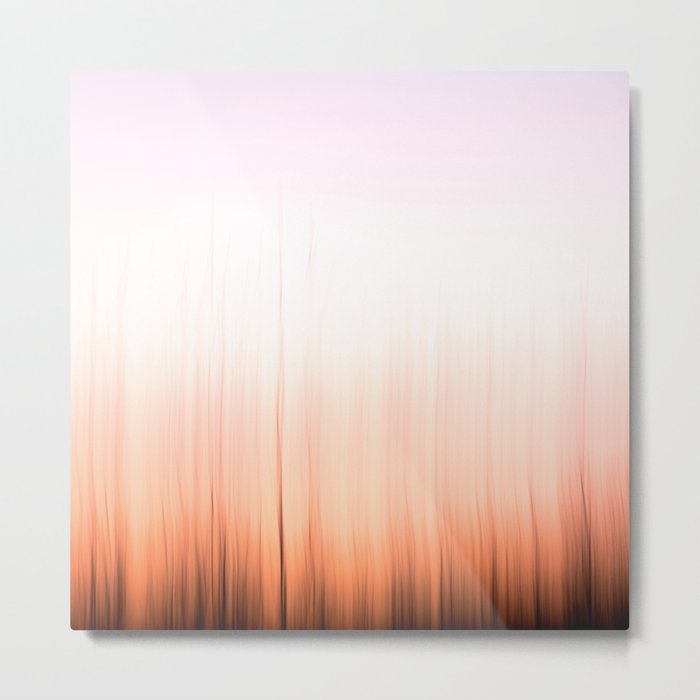 Sunset Flames Metal Print