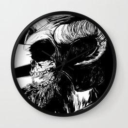 The Dead: Viking Skull of Power Wall Clock