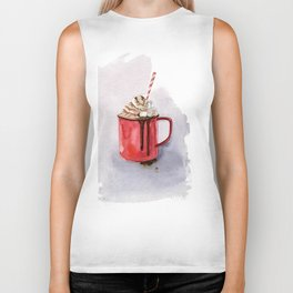 cacao cup and  winter mood and Xmas Biker Tank