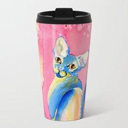 Sphynx Cat 3 Travel Mug