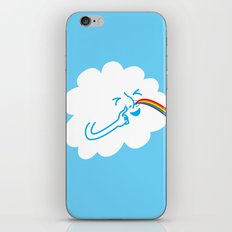 A cloud full of mischief iPhone & iPod Skin