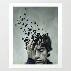 Teen Depression Art Print