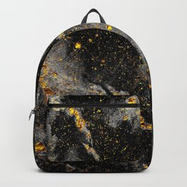 Galaxy (black gold) Backpack