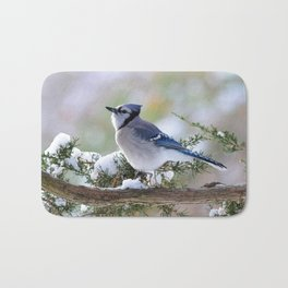 Look Skyward Blue Jay Bath Mat