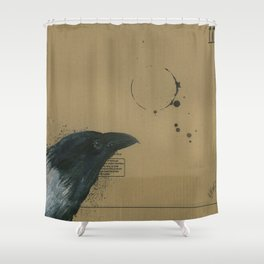 Empty Shell - 3 Shower Curtain