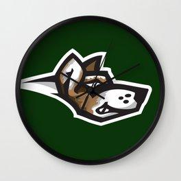 Fighting Corgis Logo Wall Clock