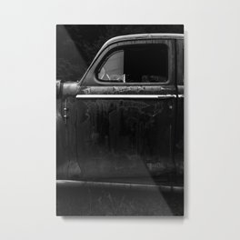 Old Junker Car Metal Print
