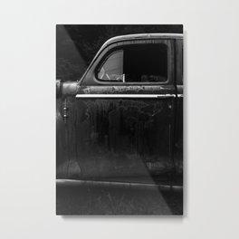 Old Junker Car Metal Print