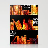 literature Stationery Cards featuring all great literature by cipollakate