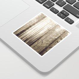 Misty Mountain Forest Sticker