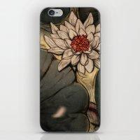 lotus iPhone & iPod Skins featuring Lotus by Corinne Reid