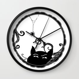 Familiar and Friend Up Close Wall Clock