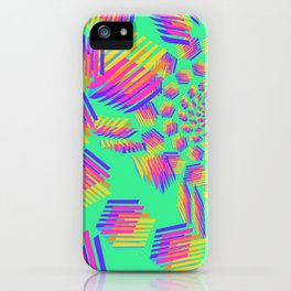 Spring breakers - geometric color iPhone Case