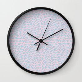 Seeing Spots (Pink) Wall Clock