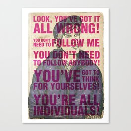 Individuals Canvas Print