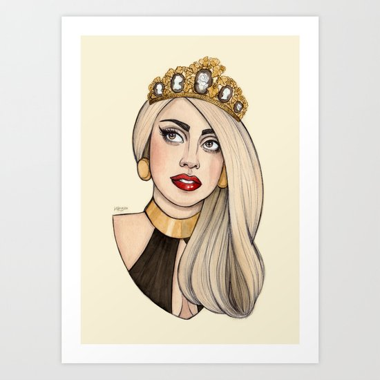 ARTPOP Princess VI Art Print
