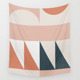 Cirque 04 Abstract Geometric Wall Tapestry