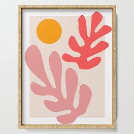 Henri Matisse - Leaves - Blush Serving Tray