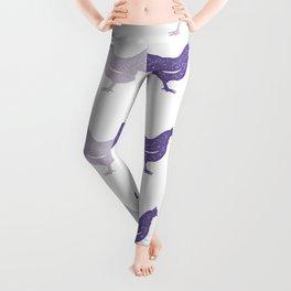 The Purple Hen Leggings