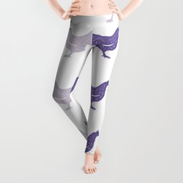 The Purple Hen Leggings